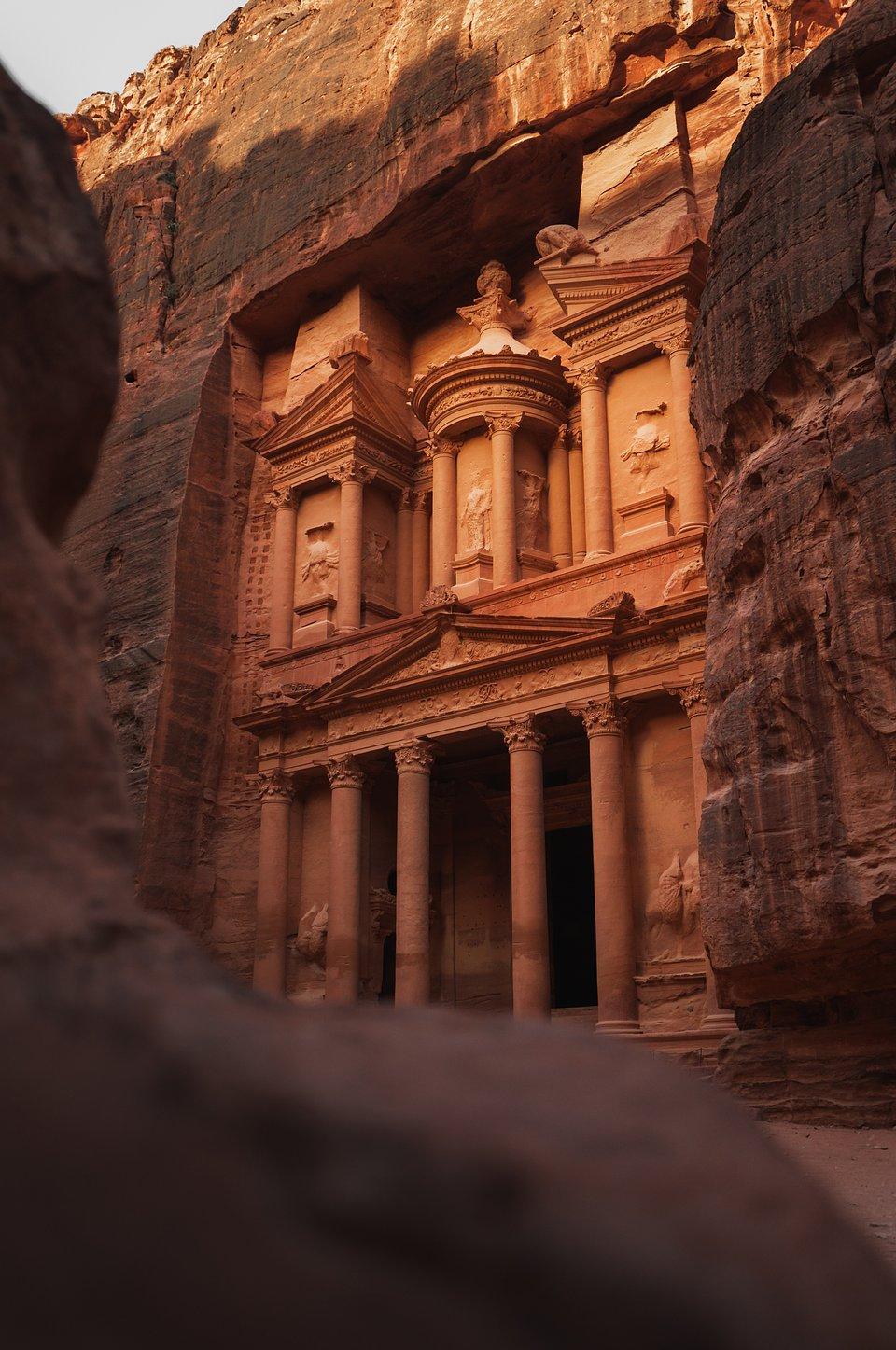 Location: Petra, Jordania
