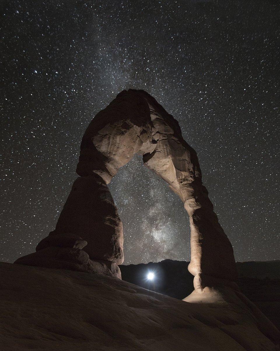 Location: Arches National Park Visitor Center, USA