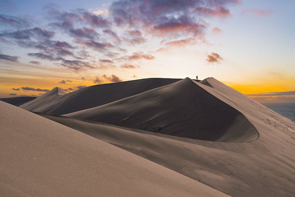 Location: Bruneau Sand Dunes, Idaho, USA