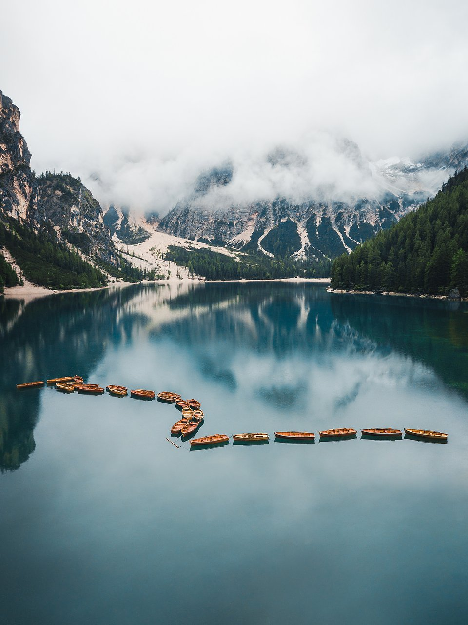 Location: Lago Di Braies, Italy