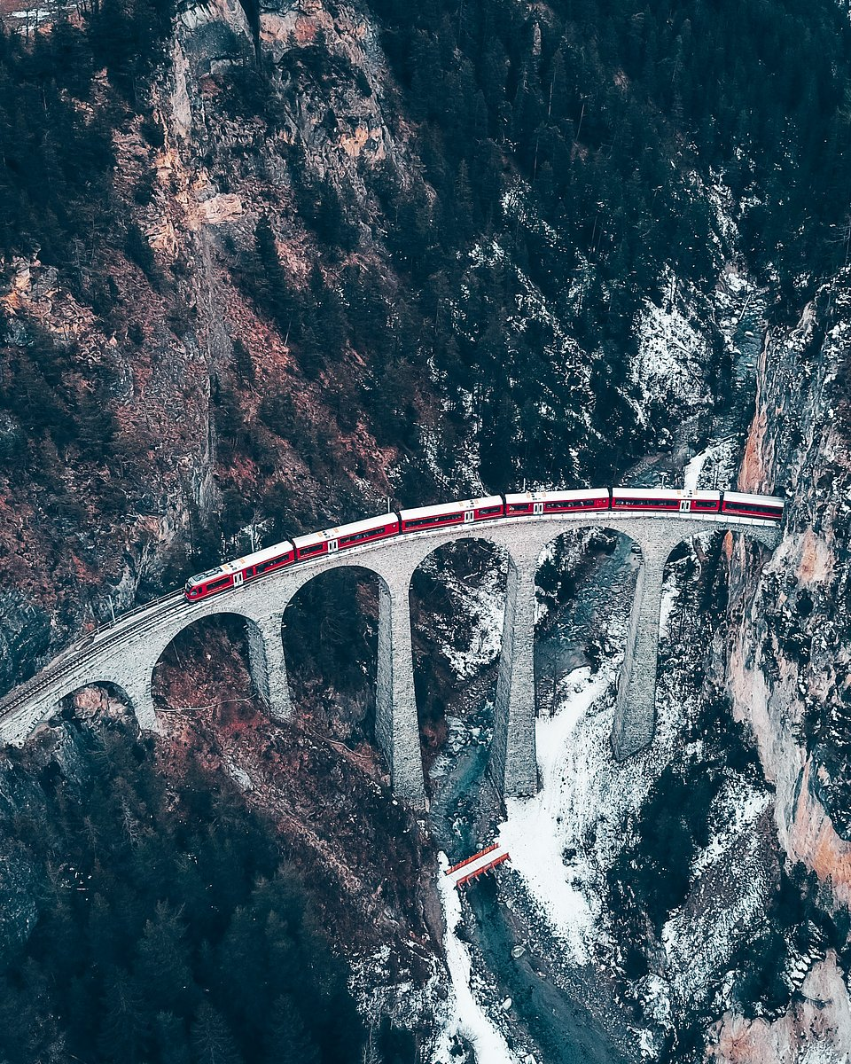 Location: Landwasser Viaduct, Davos, Switzerland