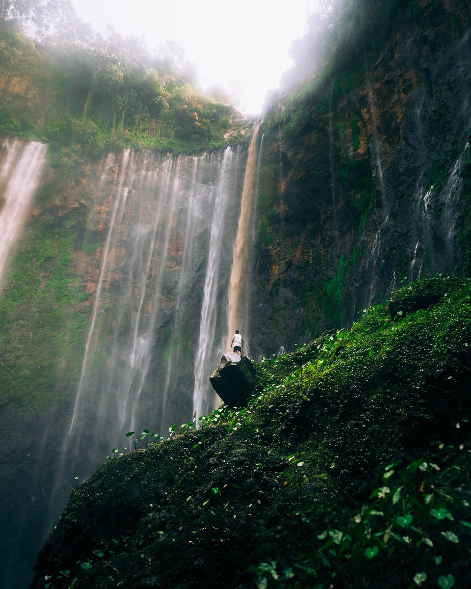 Location: Tumpak Sewu, East Java, Indonesia
