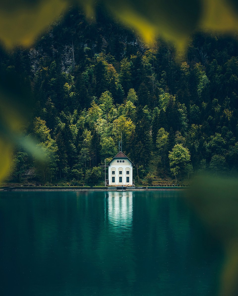 Location: Lake Plansee, Tirol, Austria