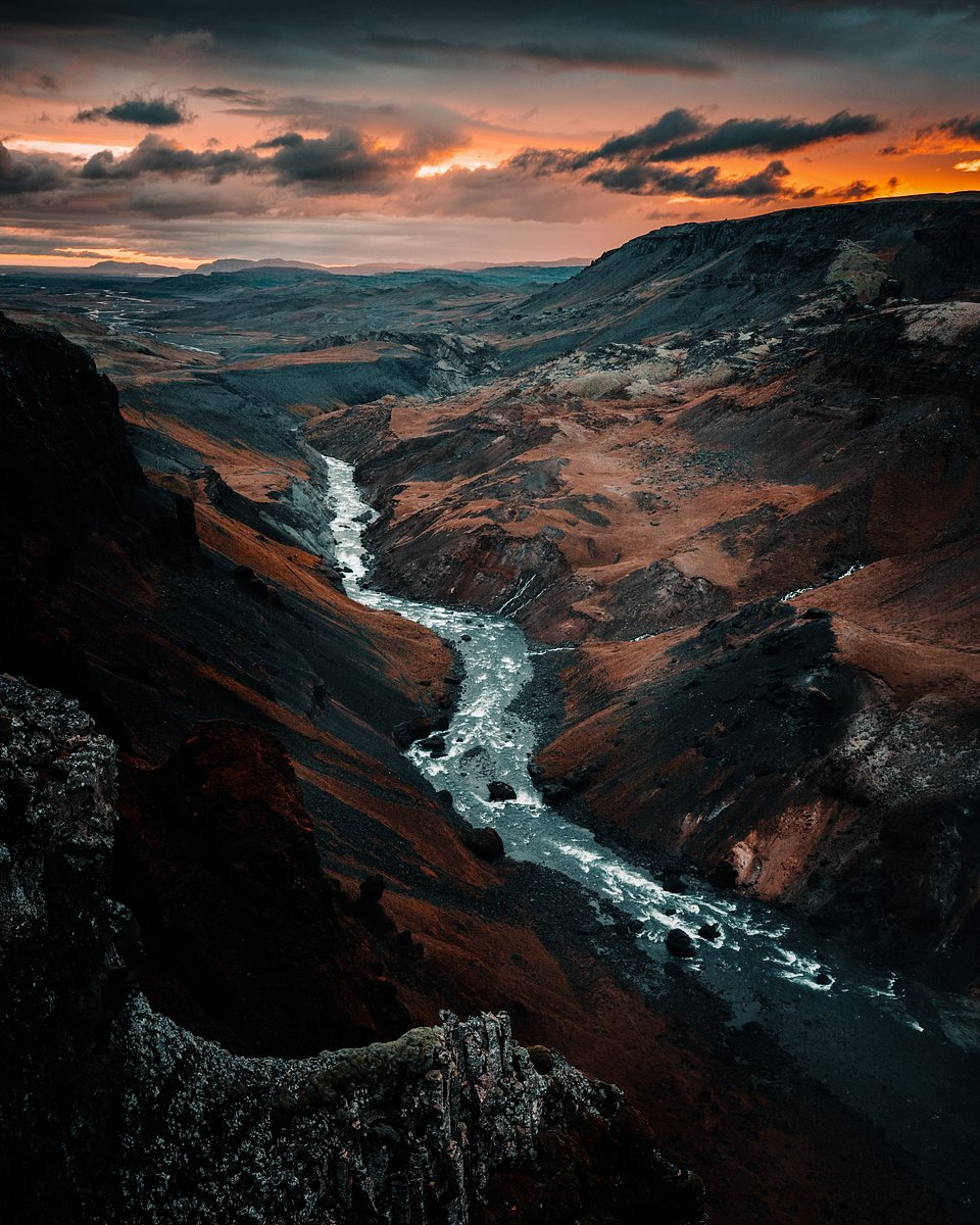 Location: Haifoss waterfall, Iceland