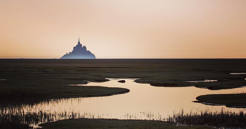 Location: Mont St Michel, France