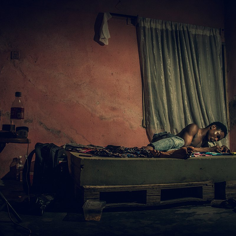 'Survive through the epidemic in poverty' by @smazzi (Nigeria).jpg