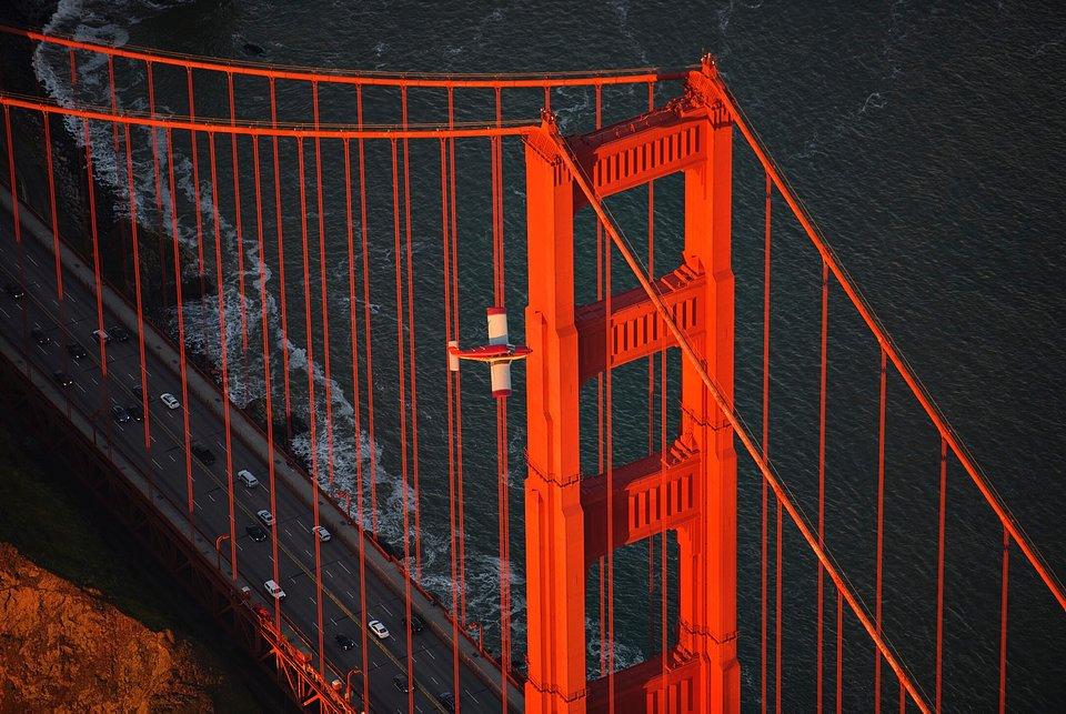 Location: Golden Gate Bridge, San Francisco, USA