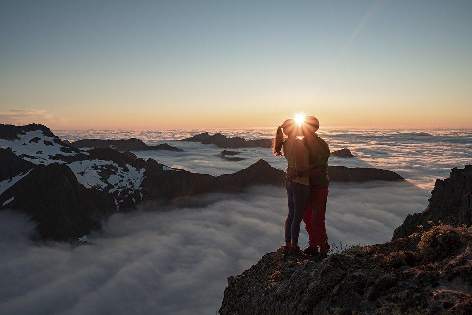 Location: Summit of Vassdalstinden, Norway