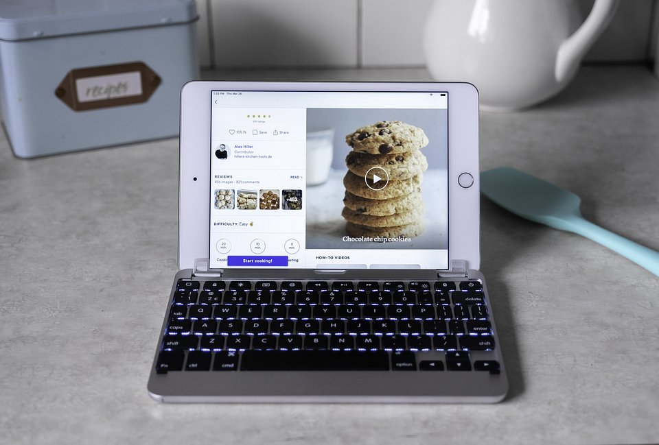 Cooking with the new iPad mini and Brydge 7.9 keyboard