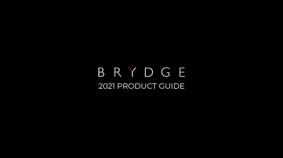 2021 Product Guide Cover
