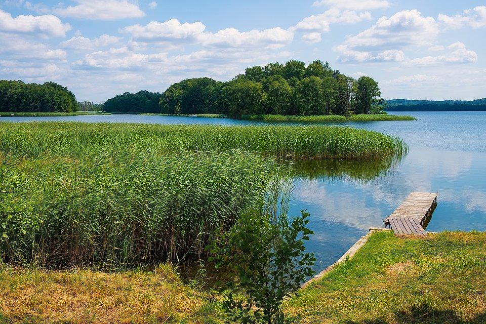 Jezioro Wulpińskie na Warmii