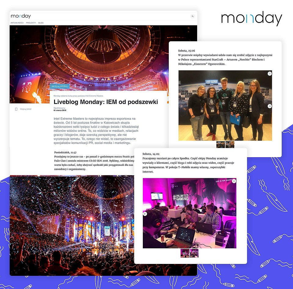 Monday's media feed on Prowly