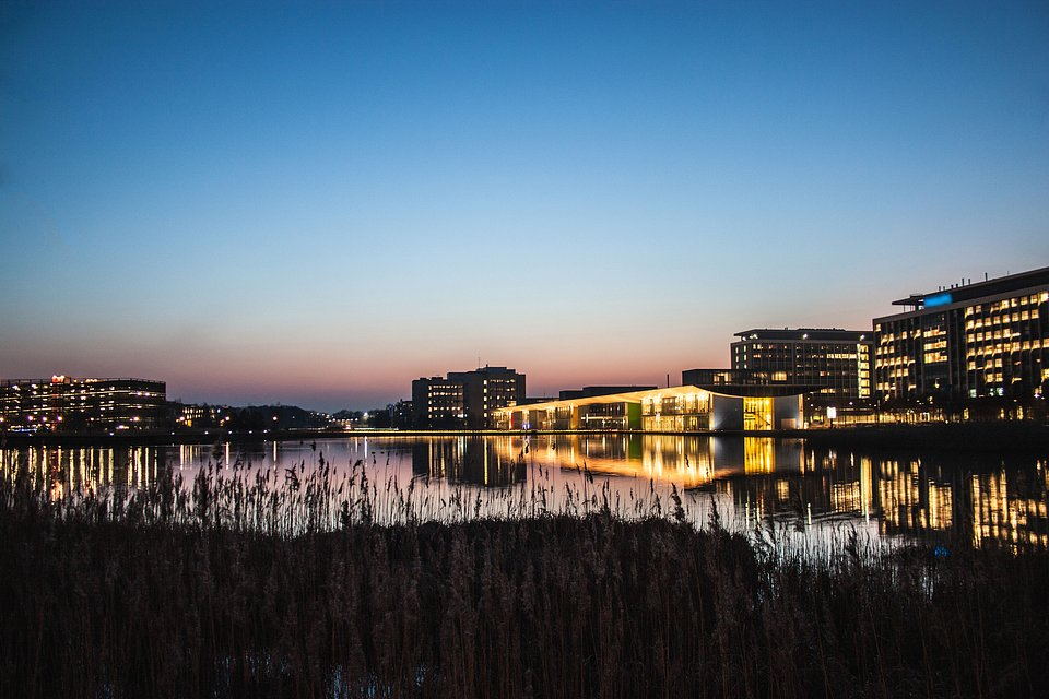 The Dutch technology business park High Tech Campus in Eindhoven