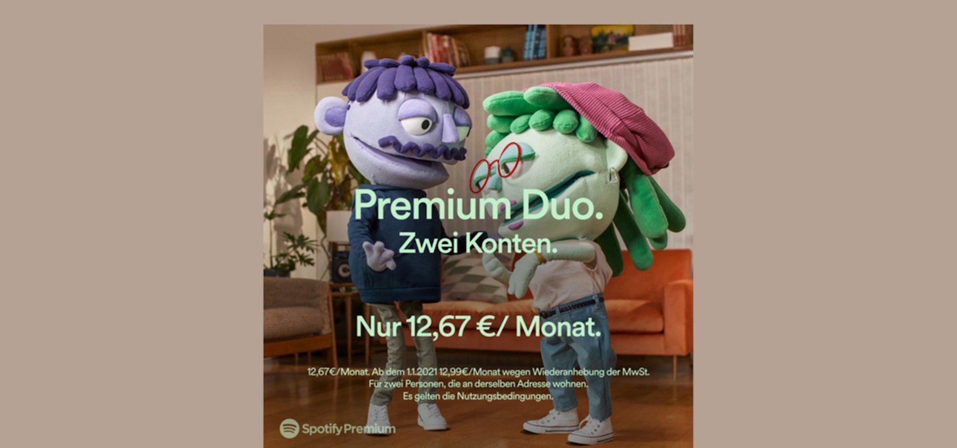 Spotify Premium Duo startet in Deutschland
