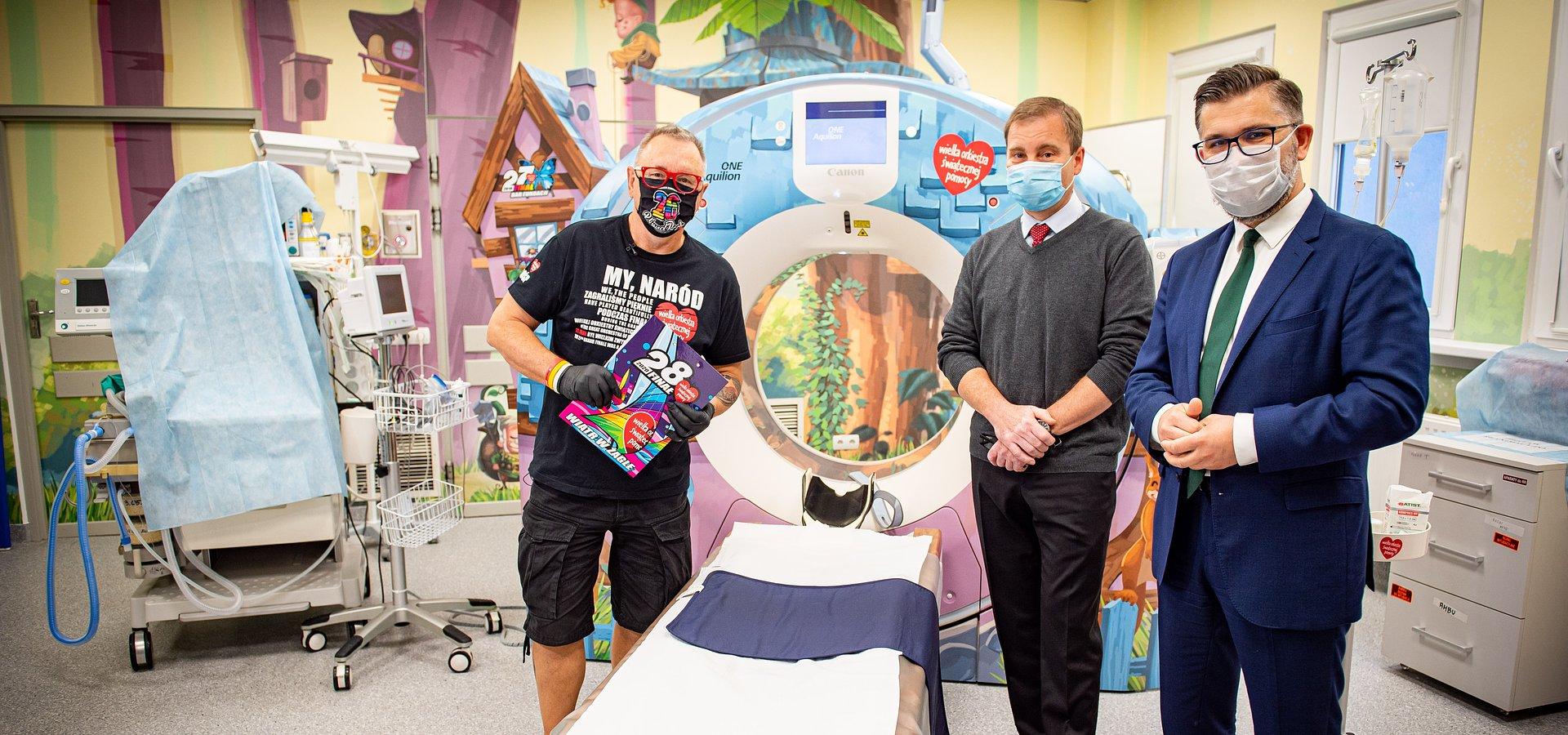 Tomograf i rentgen od WOŚP w Instytucie Centrum Zdrowia Matki Polki