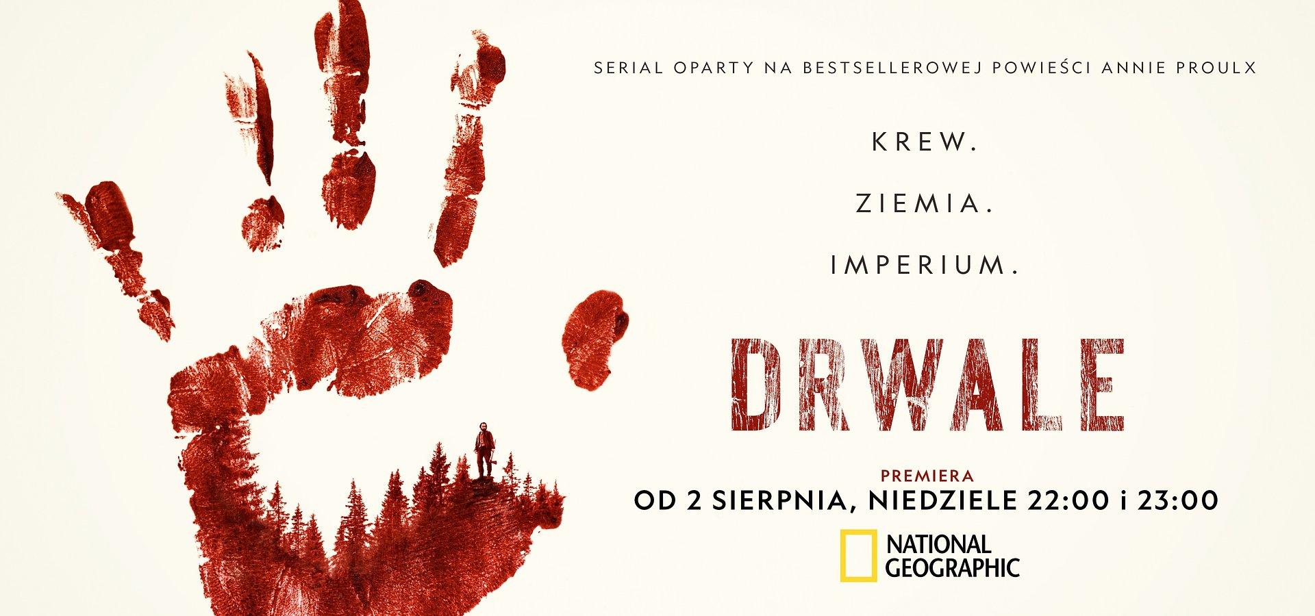 """Miniserial National Geographic """"Drwale""""z Davidem Thewlisem i Marcią Gay Harden już w sierpniu w Polsce!"""