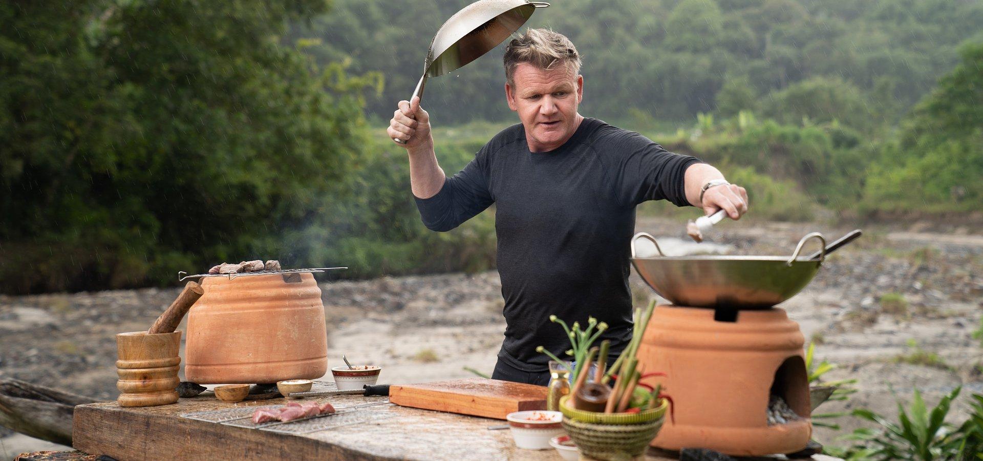 """Gordon Ramsay głodny kolejnych wypraw – premiera 2. sezonu serii """"Gordon Ramsay: świat na talerzu""""w National Geographic"""
