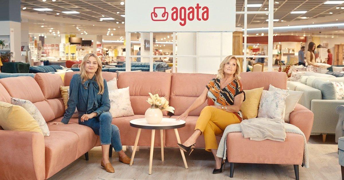 Ewa Kasprzyk obok Małgorzaty Sochy nową Ambasadorką salonów Agata.Właśnie startuje nowa kampania marki