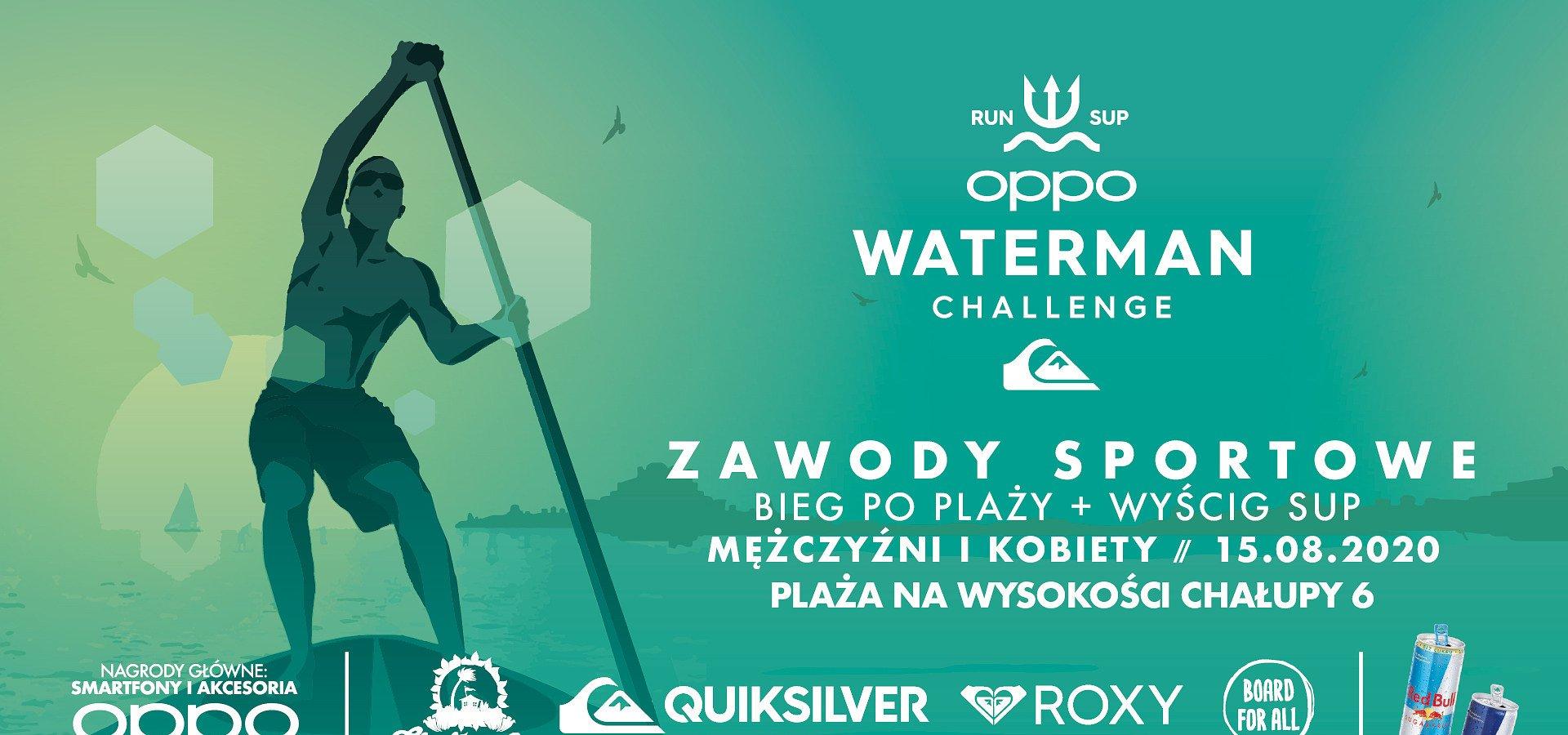 Piasek pod stopami, woda wokół i… smartfon w ręku. Za chwilę OPPO Waterman Challenge
