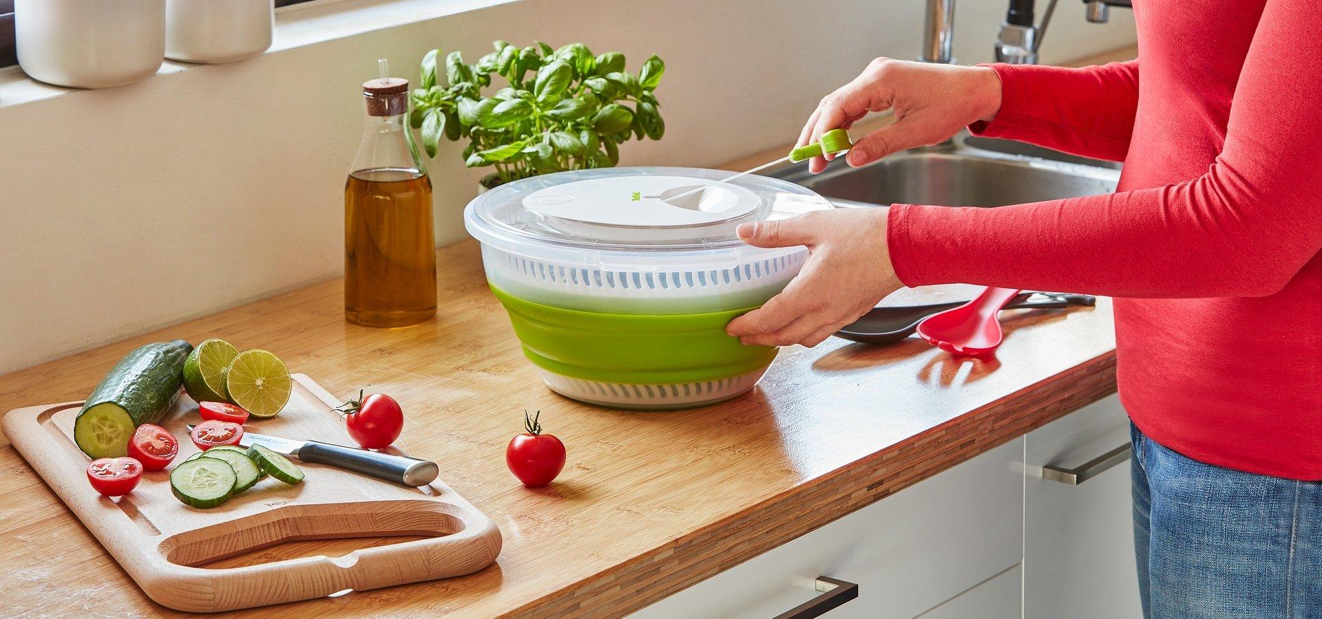 Prepare as melhores saladas com Moulinex