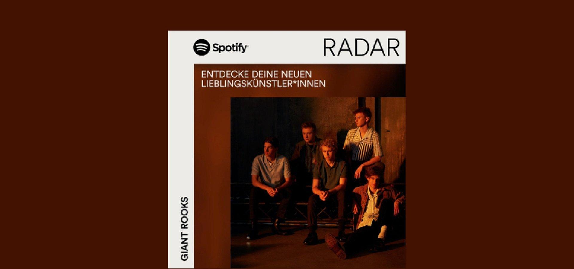 Spotify startet eigenen Hub für internationales RADAR Programm und zeigt jetzt auch virtuelle Events an