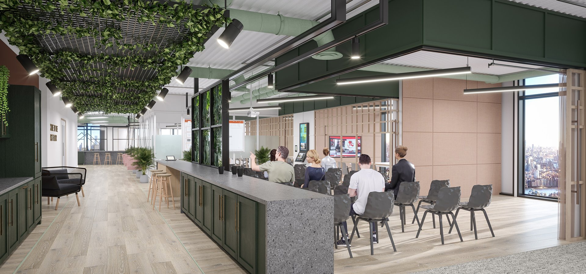 HB Reavis launches new 'ready to work' tech office space at flagship BloomClerkenwell