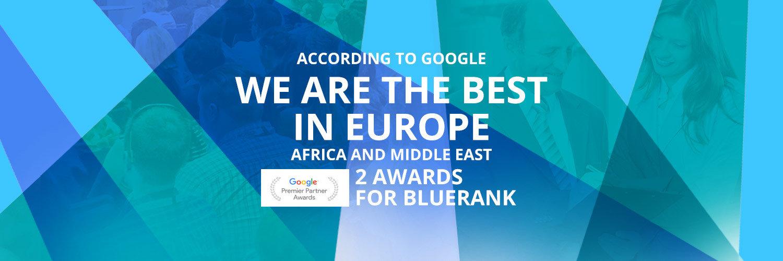 Bluerank honoured by Google