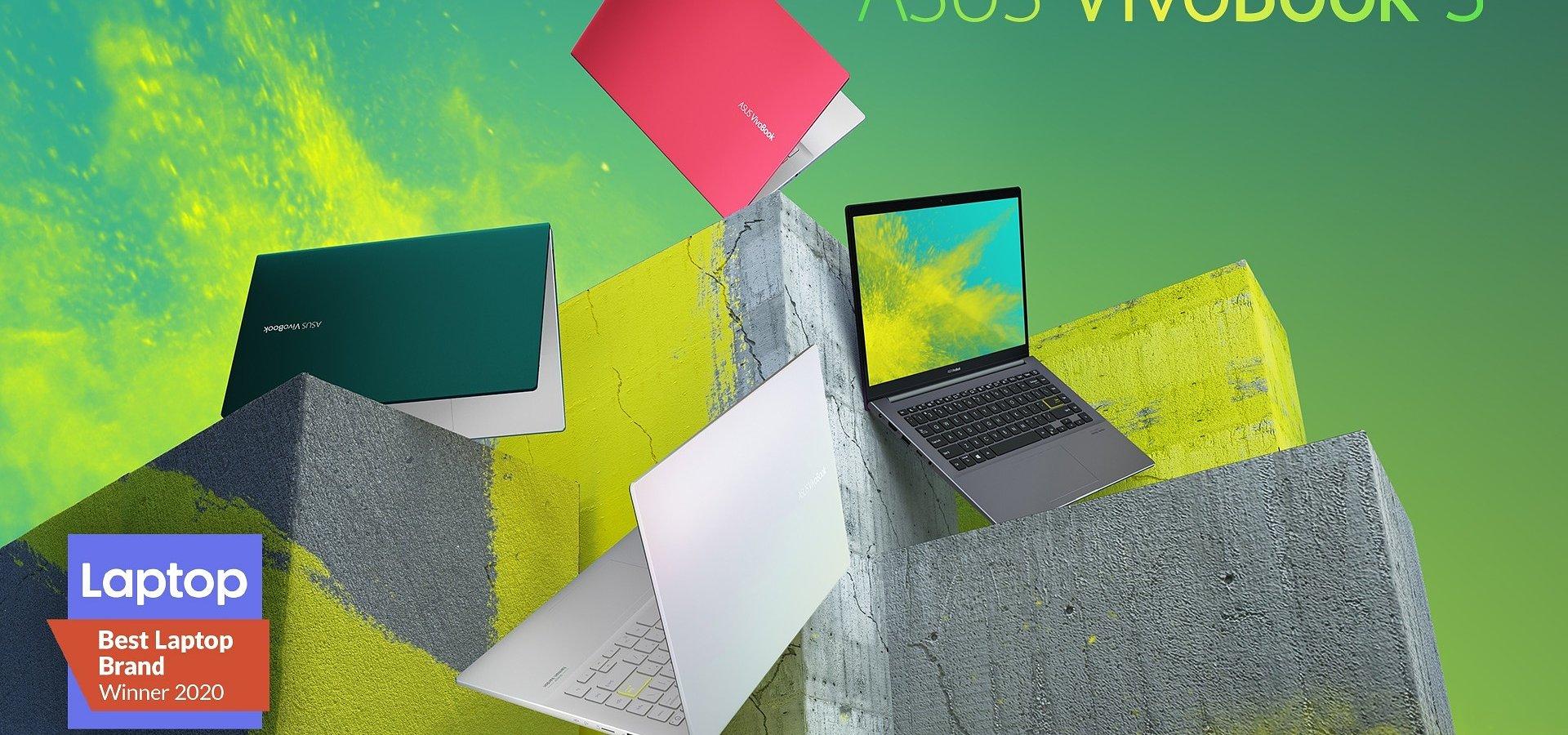 ASUS wyróżniony tytułem Najlepszej Marki Laptopów w 2020 roku przez Laptop Mag