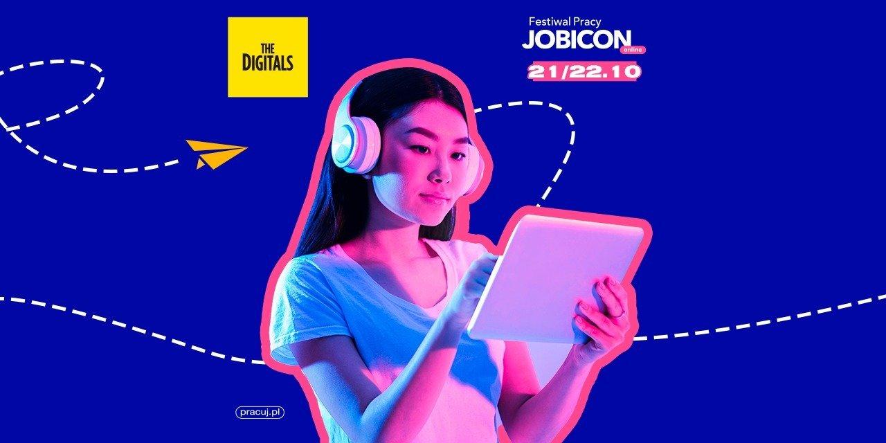 The Digitals dla Festiwalu Pracy JOBICON online od Pracuj.pl