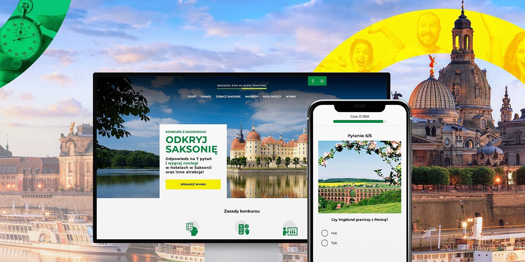 Nationwide knowledge contest about Saxony.