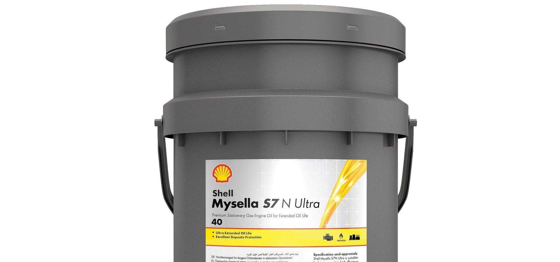 Shell Mysella S7 N Ultra –najbardziej wydajny olej do stacjonarnych silników gazowych
