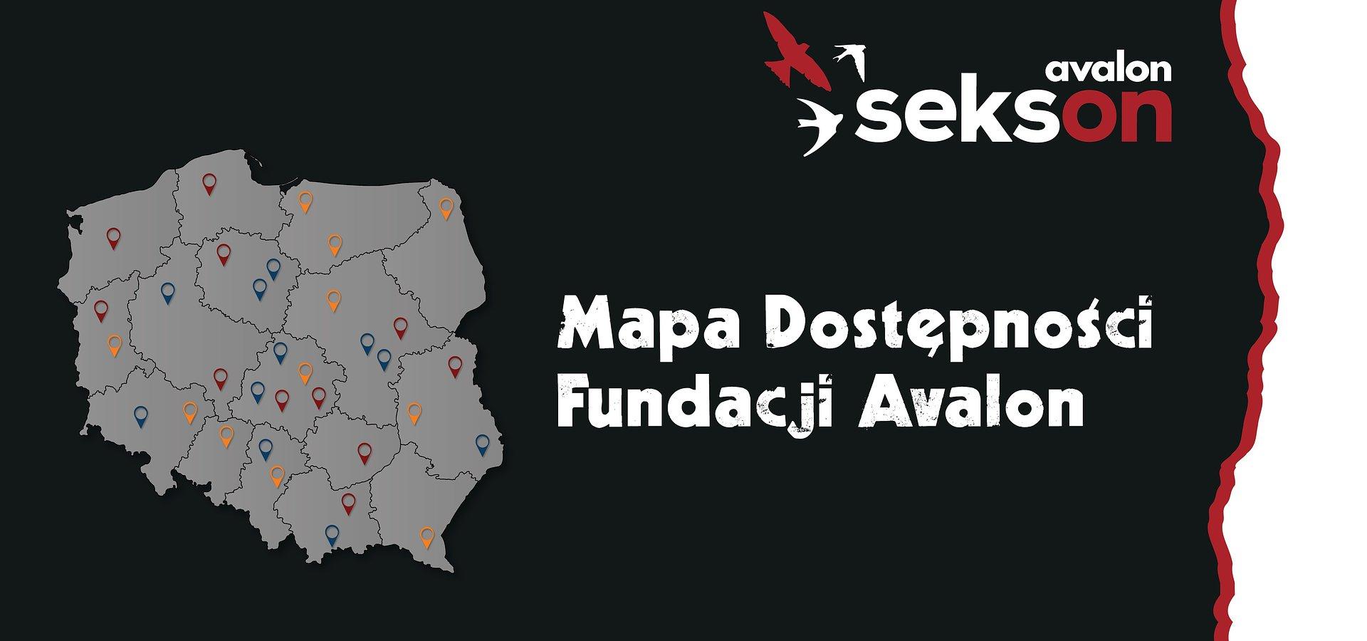 Mapa Dostępności Fundacji Avalon objęła całą Polskę