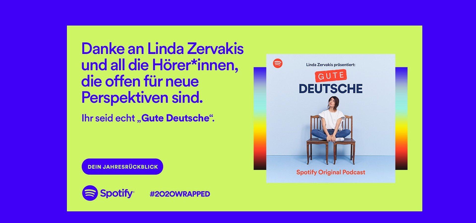"Spotify startet Marketingkampagne zum Jahresrückblick 2020 ""Wrapped"""
