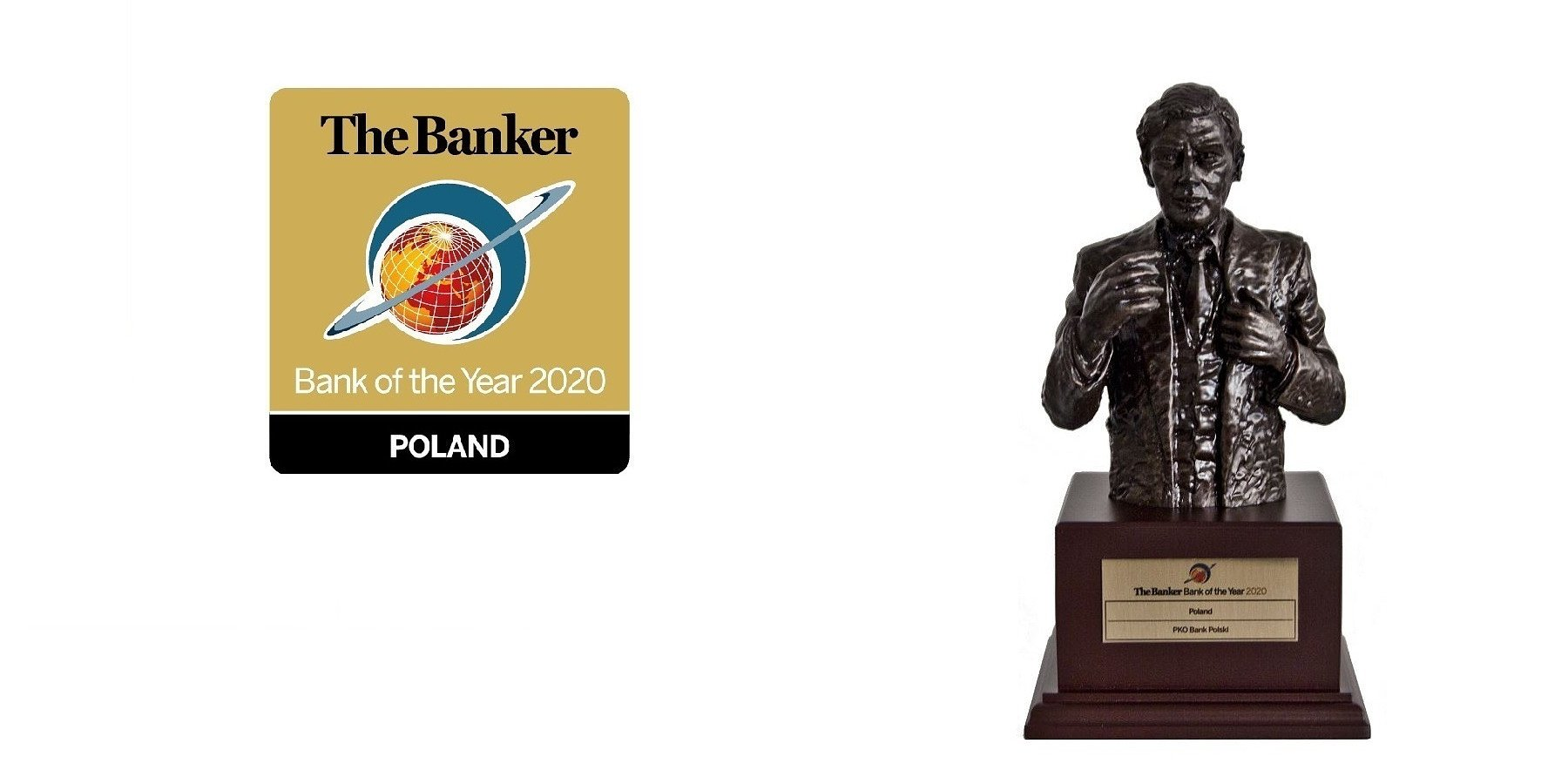 "PKO Bank Polski Awarded With the ""Bank of the Year 2020"" Title"