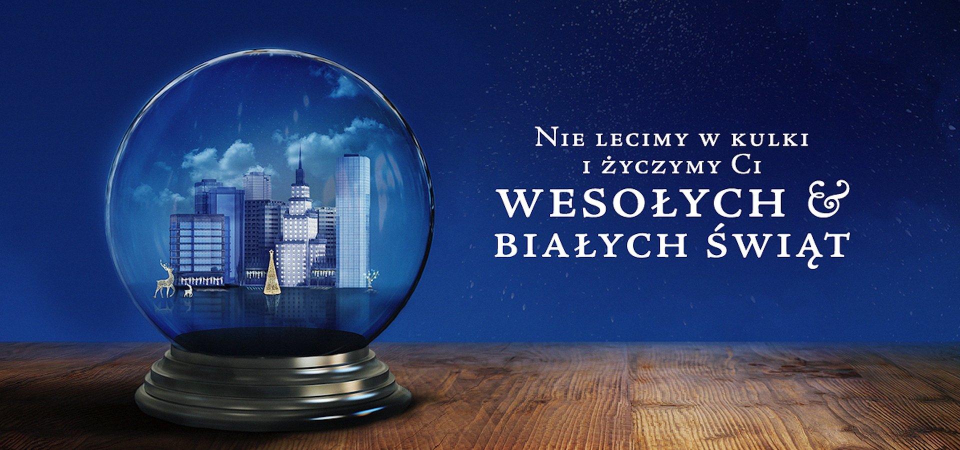 White Xmas - kartka świąteczna w AR od VMLY&R Poland