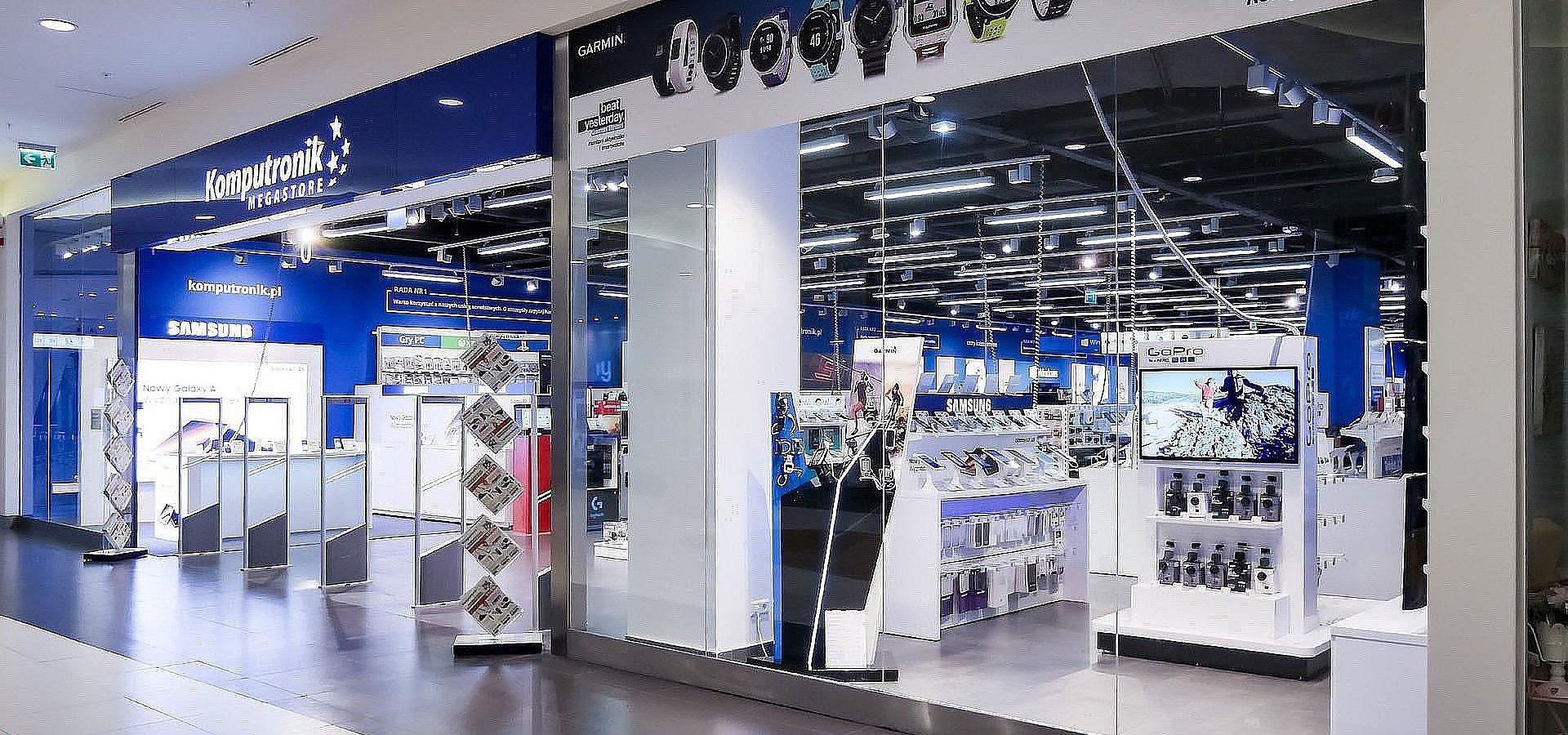Pomimo zamknięcia galerii handlowych klienci Komputronik mogą nadal robić zakupy