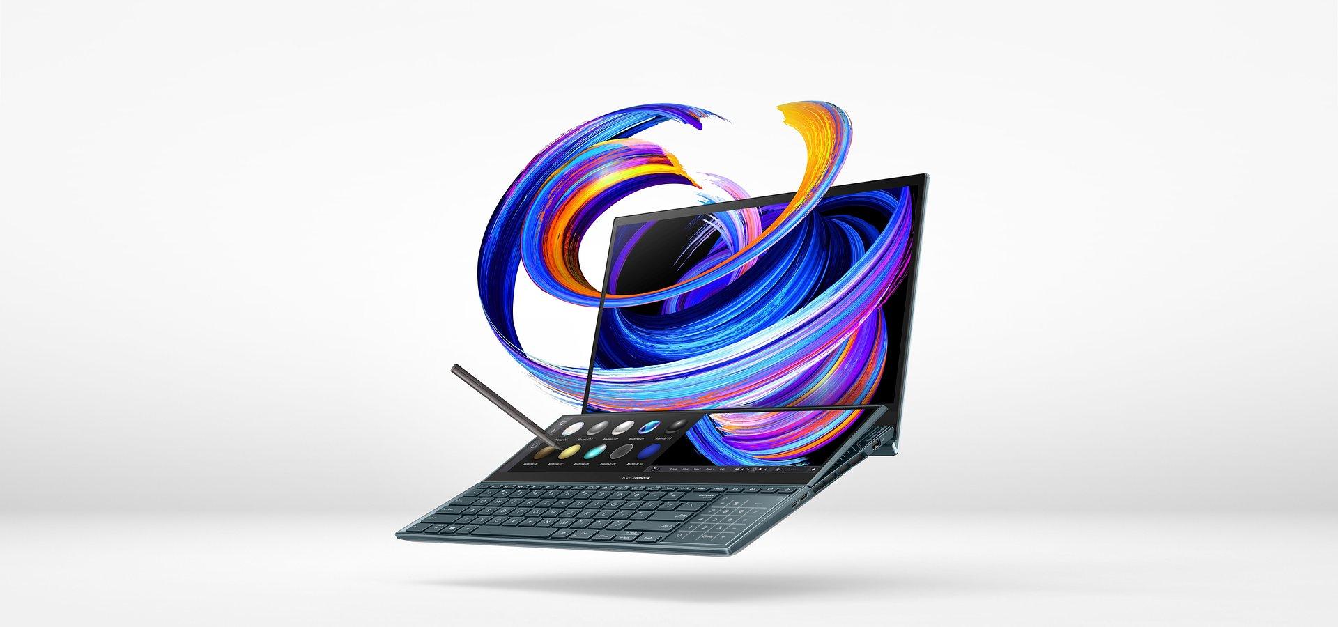 ASUS prezentuje nowe, ulepszone dwuekranowe laptopy z serii ZenBook