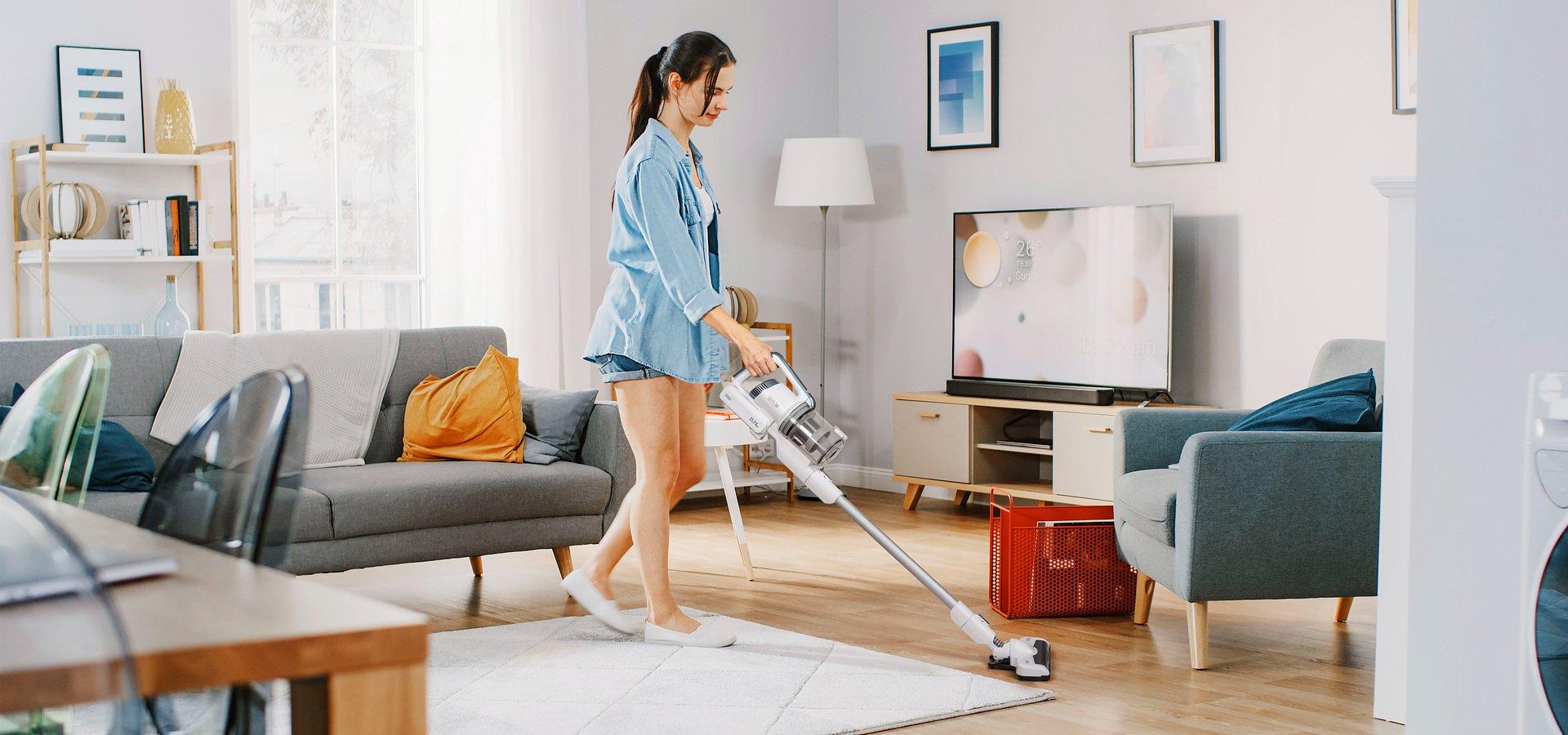 Swobodne i efektywne sprzątanie z nowym odkurzaczem Teesa Sweeper 7000
