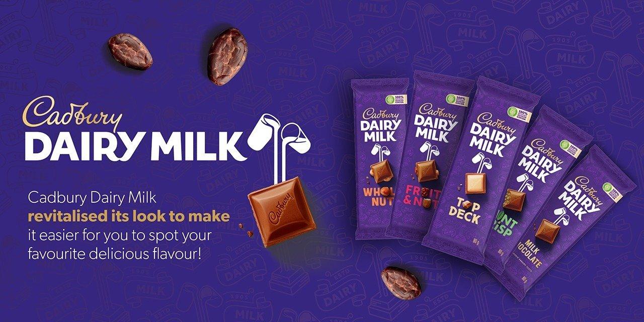 Cadbury Dairy Milk Celebrates Its New Look