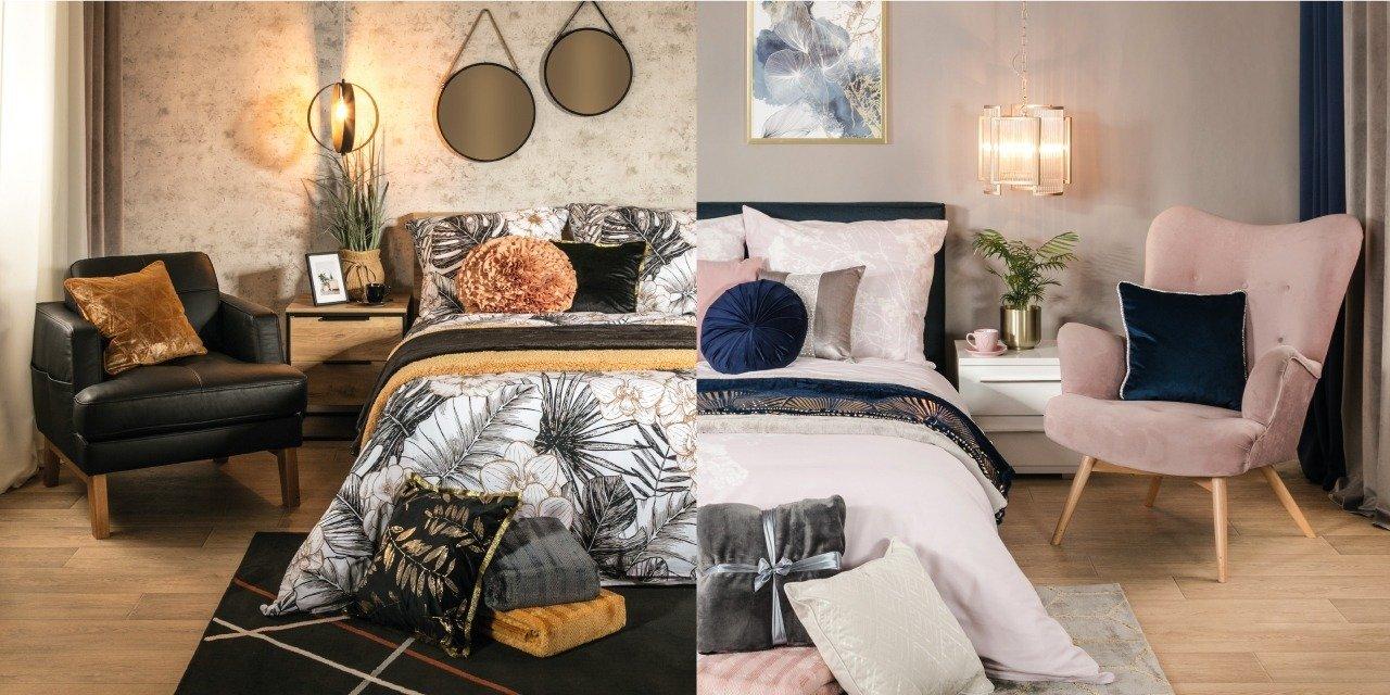 MUST HAVE z dwóch perspektyw: meble i tekstylia do sypialni