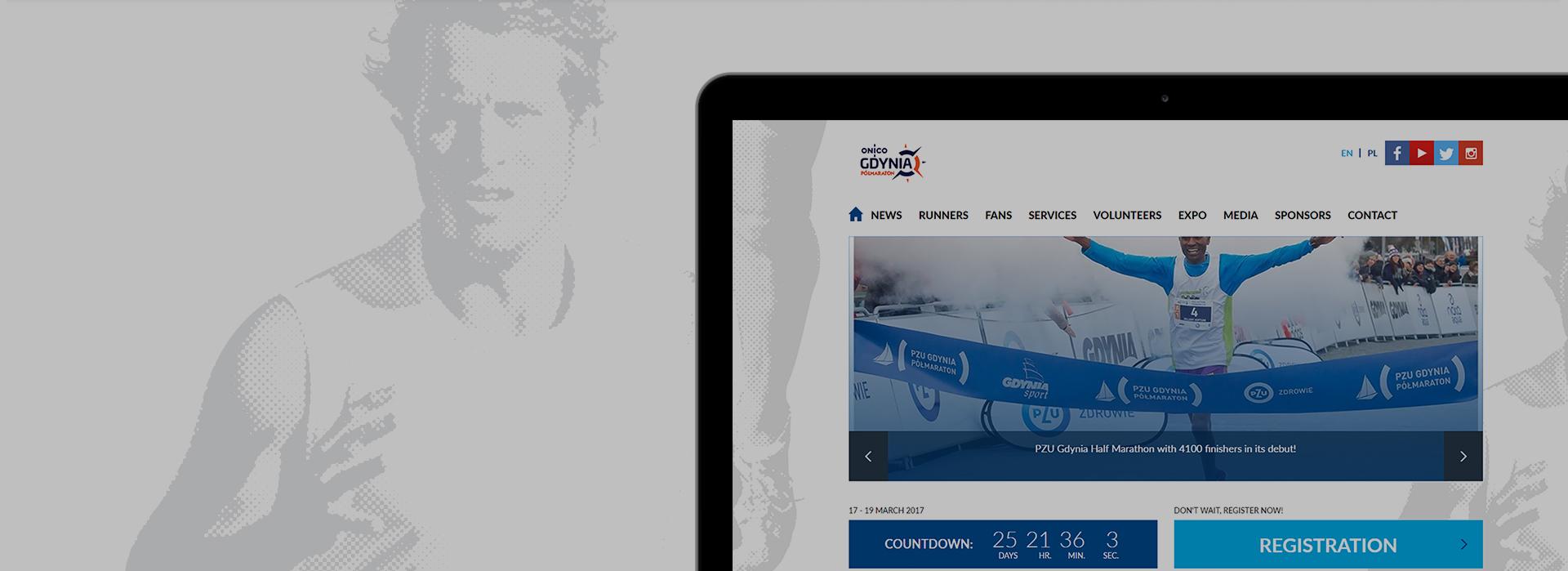 More than 1000 registrations in 3 hours!  PZU Gdynia Half-Marathon website