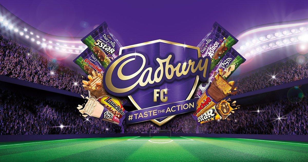 #TasteTheAction with Cadbury and Five Legendary English Football Clubs