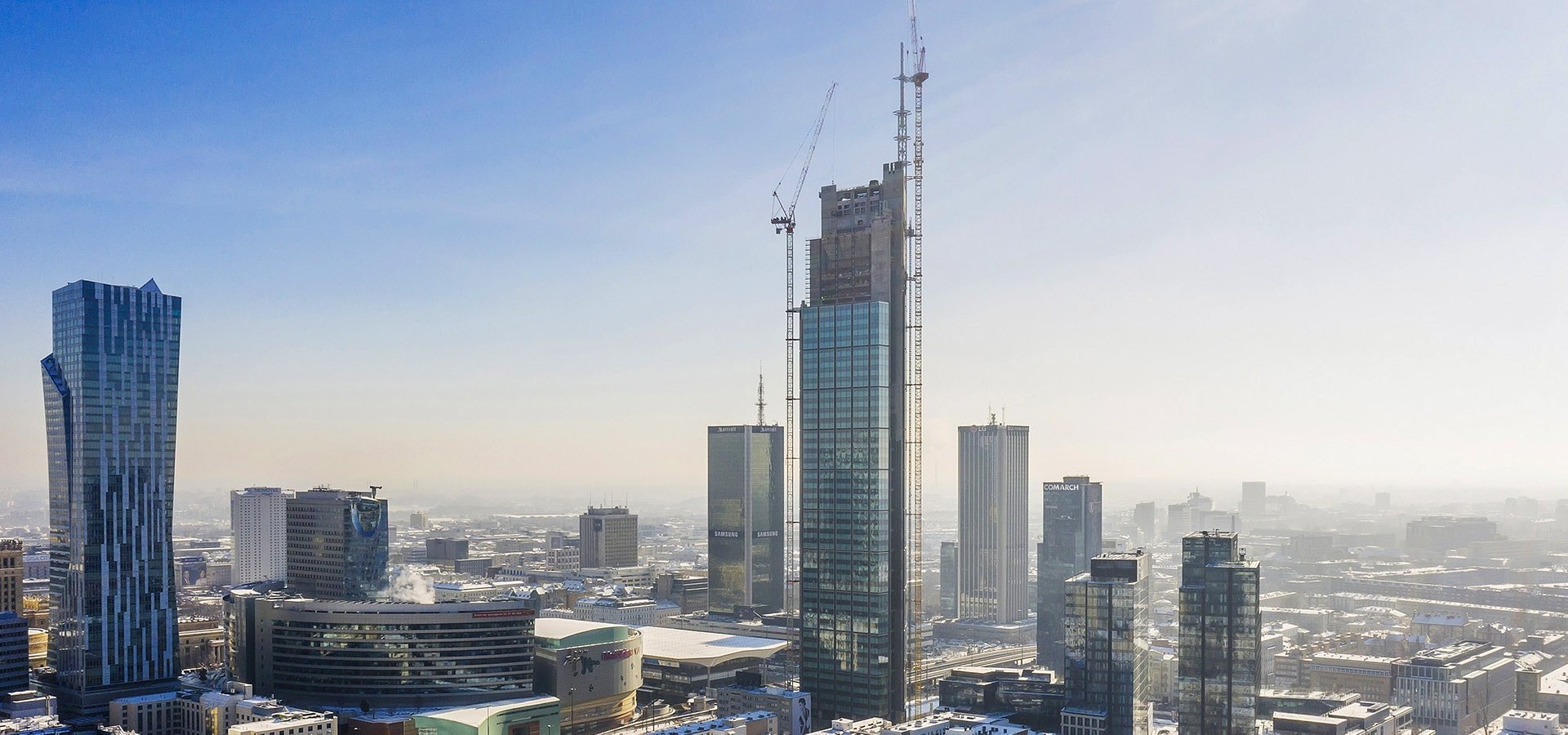 HB Reavis' Varso Tower becomes the EU's tallest building