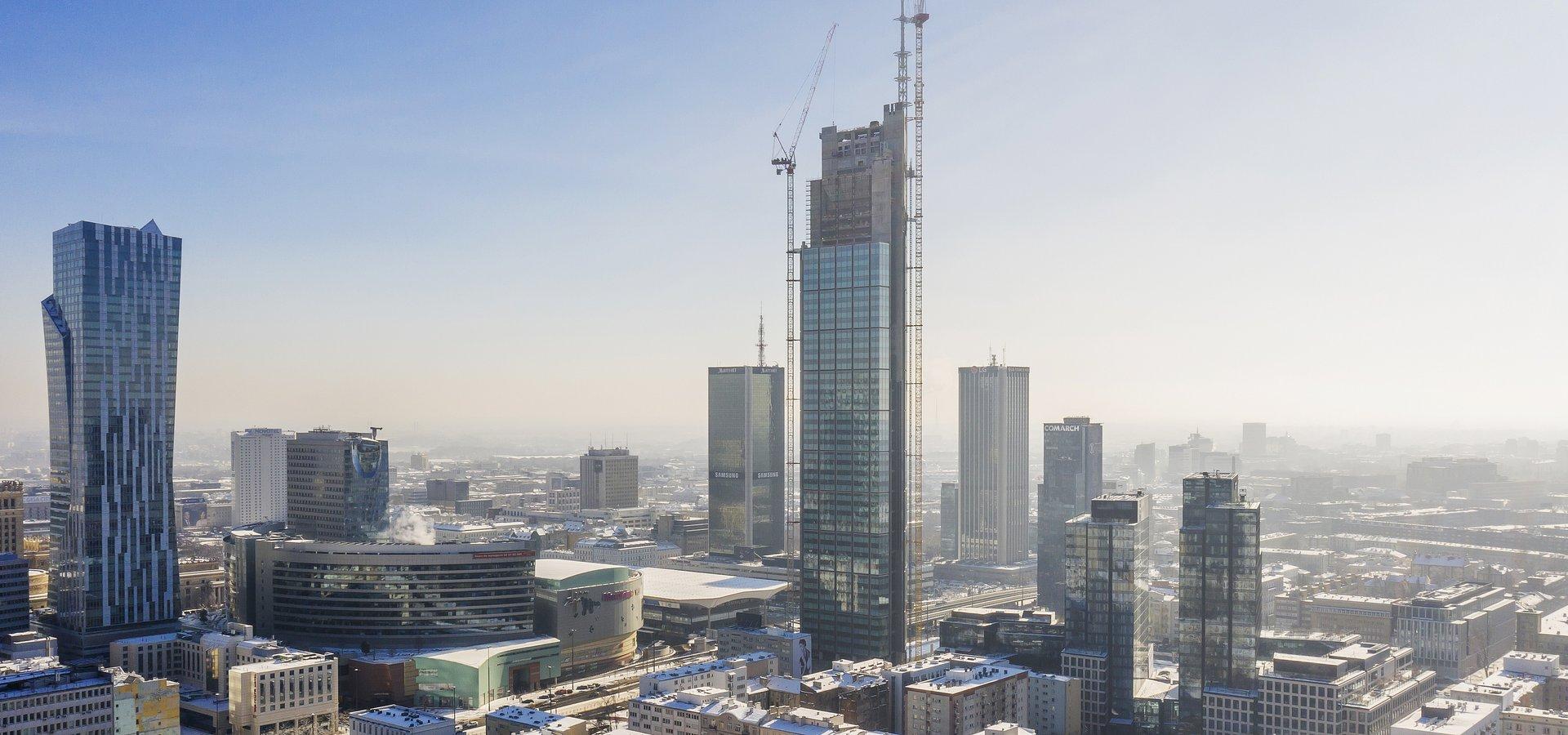 Realizowane przez HB Reavis Varso Tower najwyższym wieżowcem w Unii Europejskiej