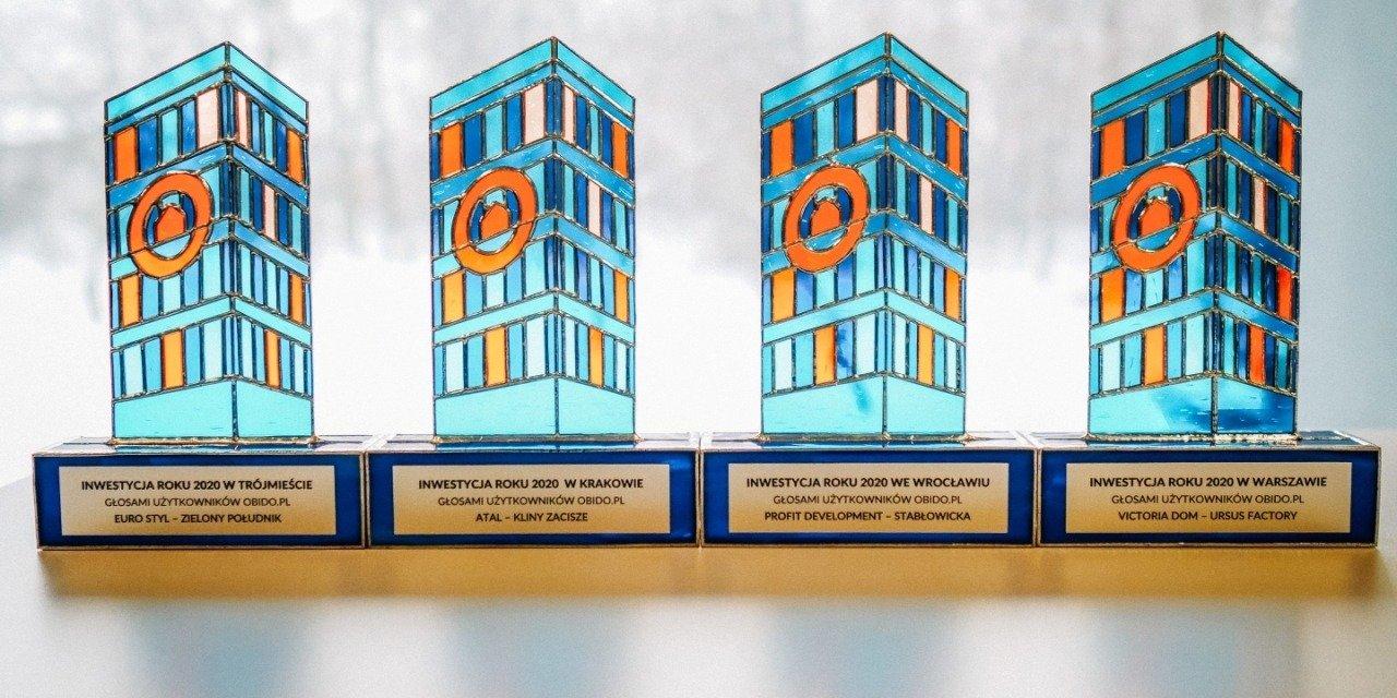 Nagrody dla Inwestycji Roku 2020 obido