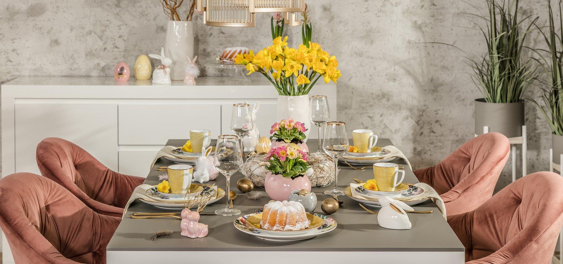 Trend Alert: Wielkanocna aranżacja stołu