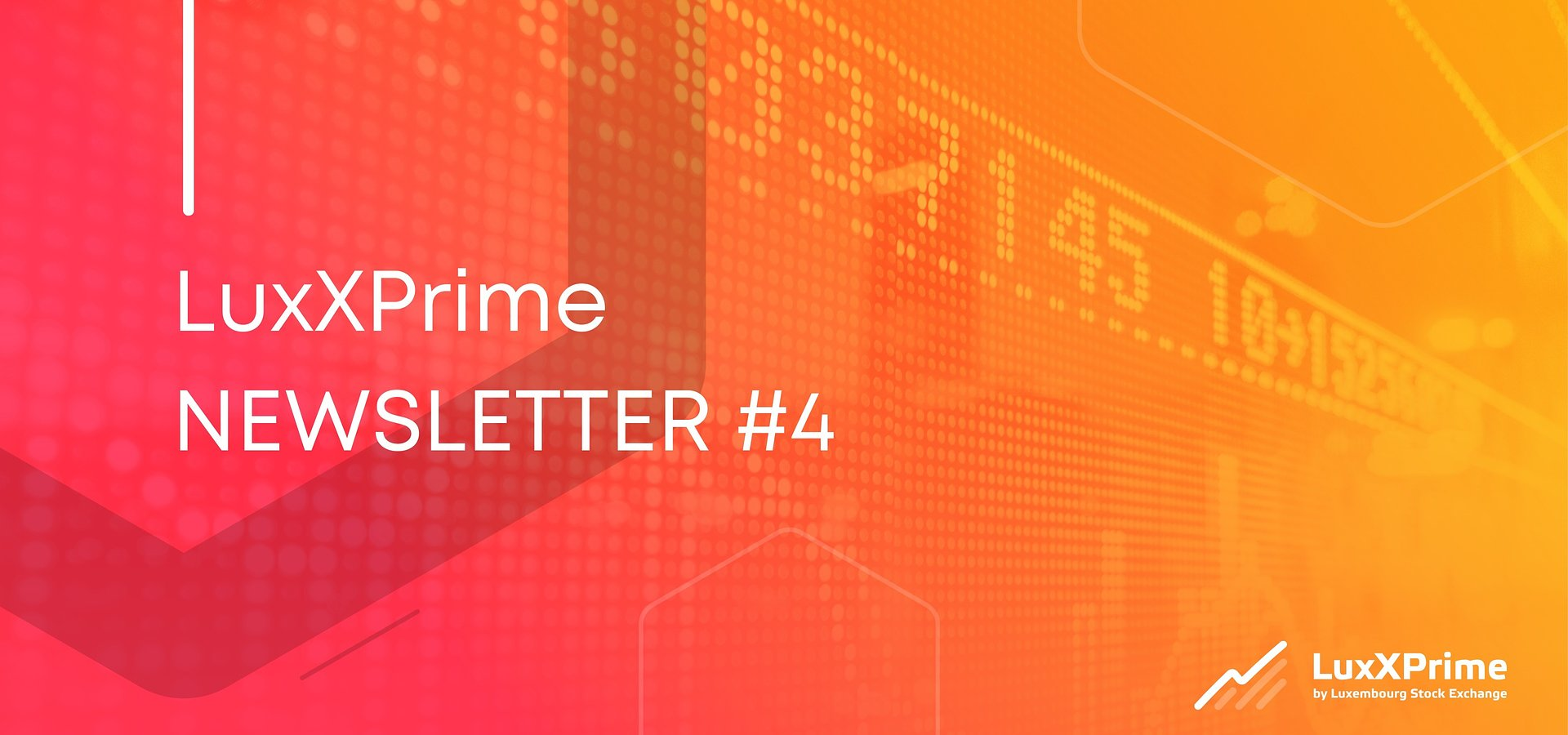 Welcome to the LuxXPrime Newsletter!