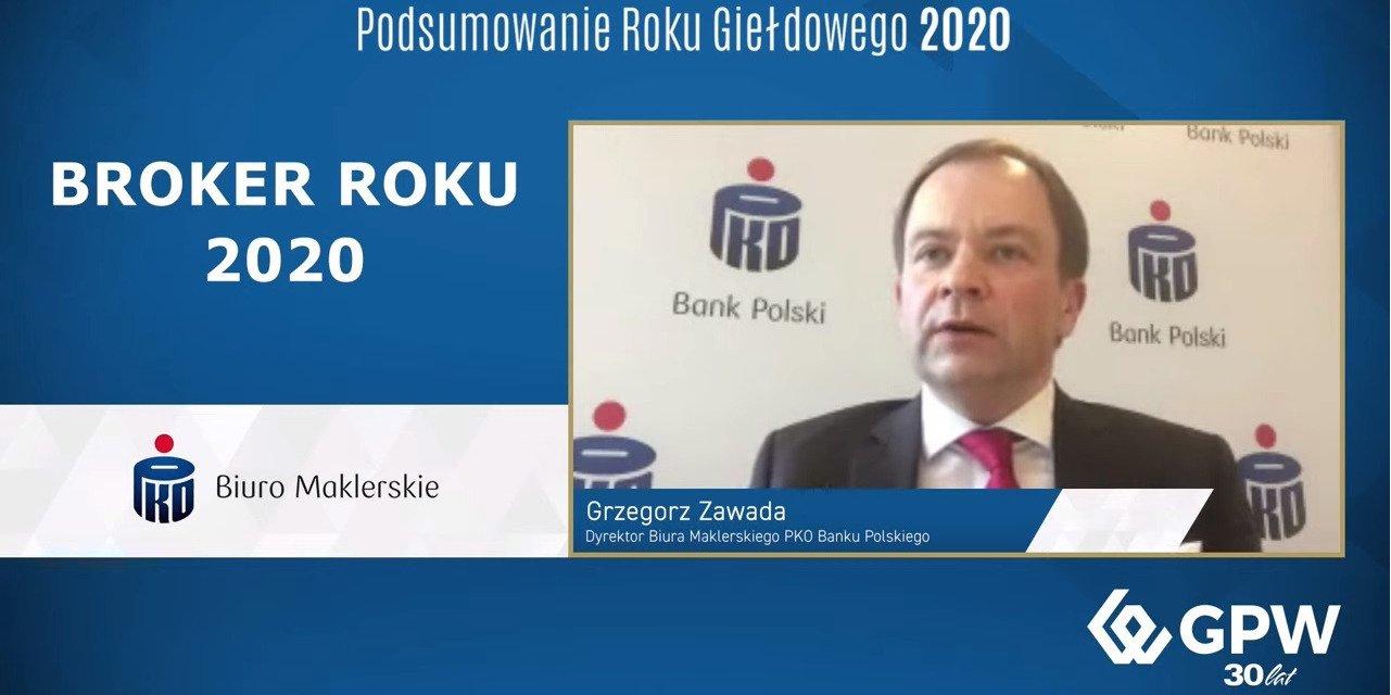 Broker Roku 2020 dla Biura Maklerskiego PKO Banku Polskiego