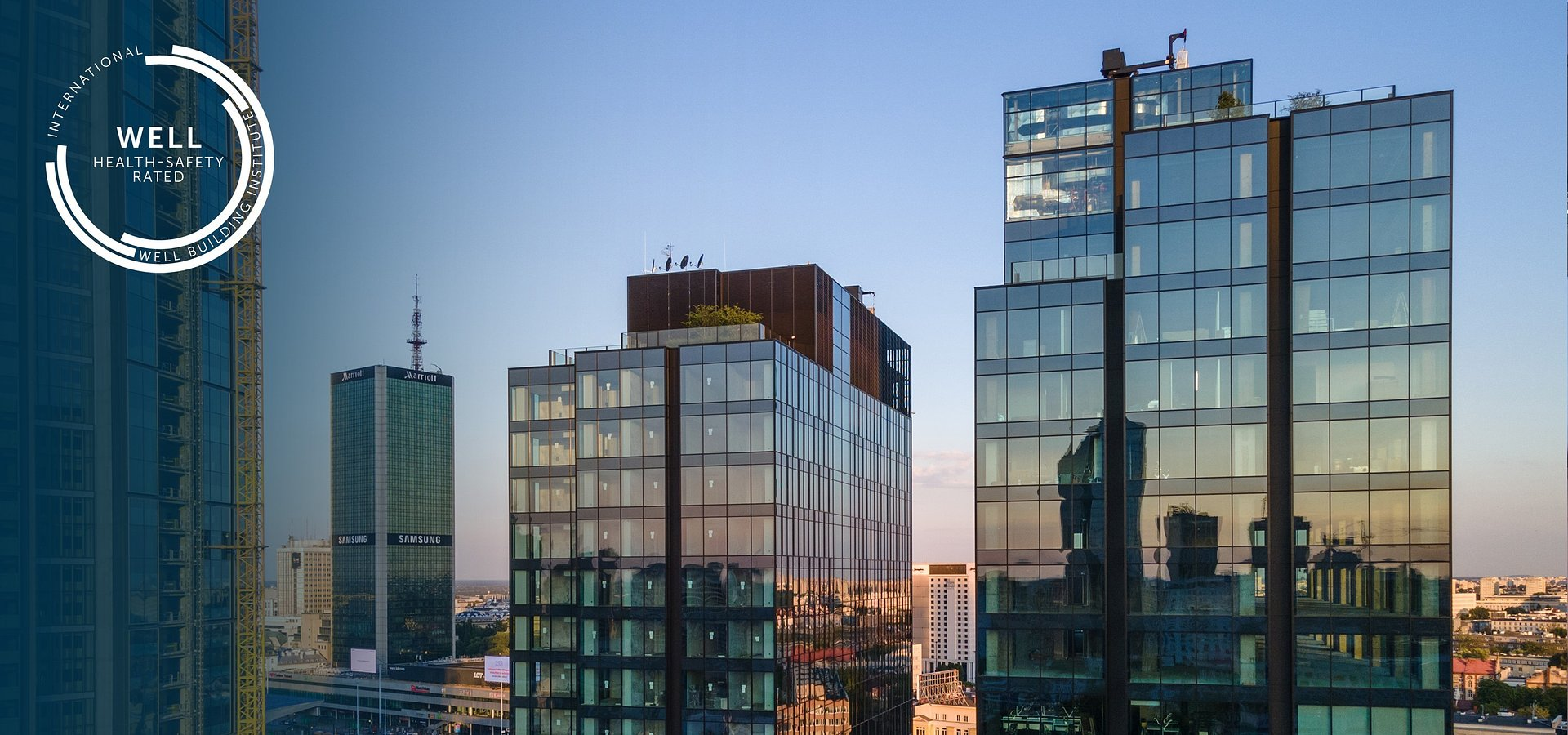 Varso Place mit dem neuen WELL Health-Safety Rating akkreditiert
