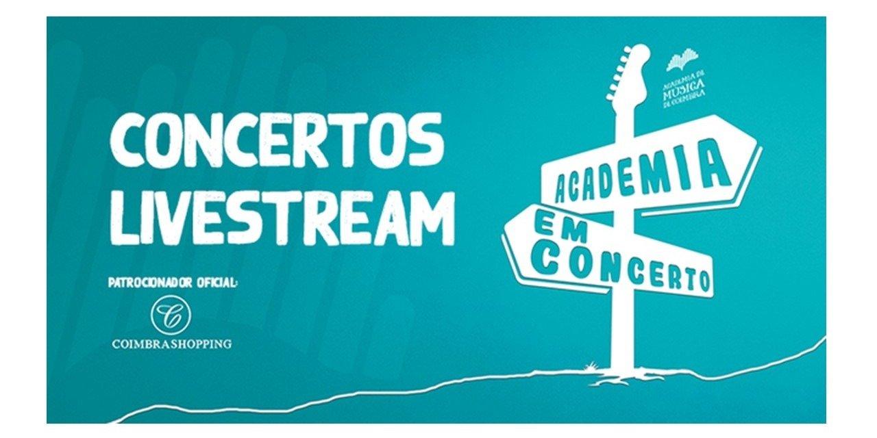 CoimbraShopping patrocina concertos livestream da Academia de Música de Coimbra